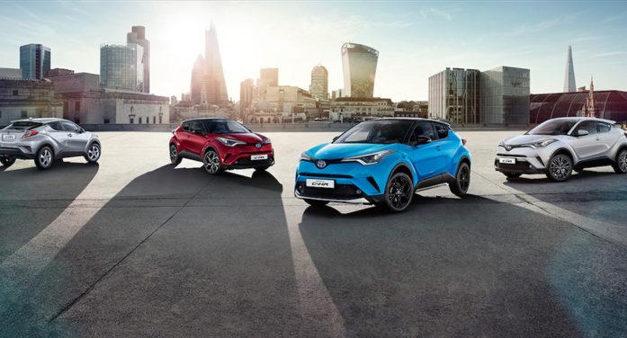 Toyota inicia la comercialización en España de la gama 2019 del C-HR Hybrid