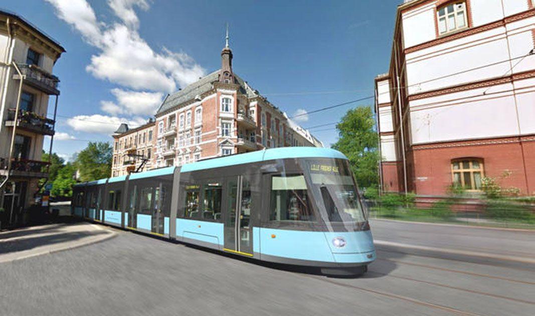 Oslo elige a CAF para el suministro de 87 tranvías por 200 millones