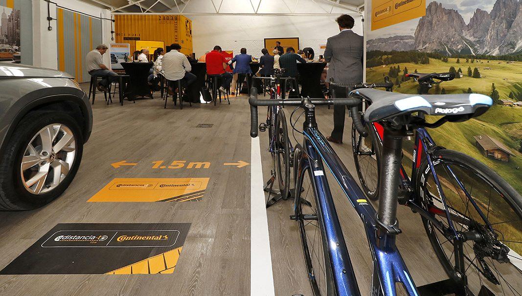 Continental lanza una iniciativa para proteger a ciclistas y conductores