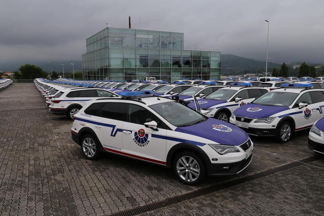 El Gobierno Vasco adquiere 300 unidades del Seat León X-Perience para la policía autonómica