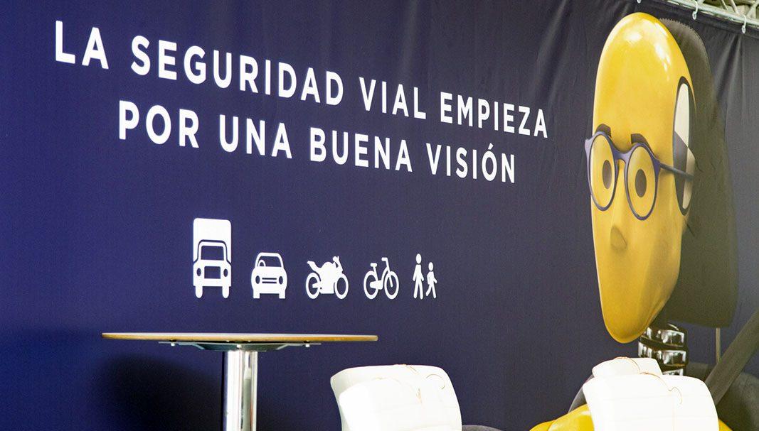 """Arranca la campaña """"La seguridad vial empieza por una buena visión"""""""