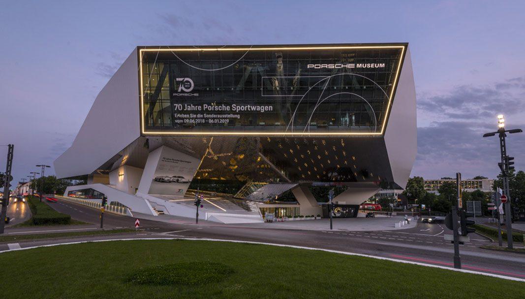 Porsche presenta la exposición especial 70 años de deportivos