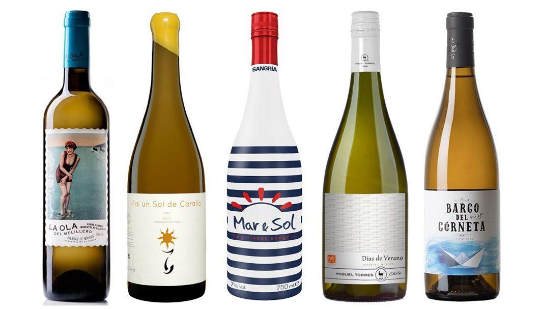 Uvinum pone al alcance de tu mano los mejores vinos blancos del verano