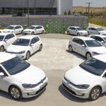 Flota de coches de empresa de Volkswagen Golf