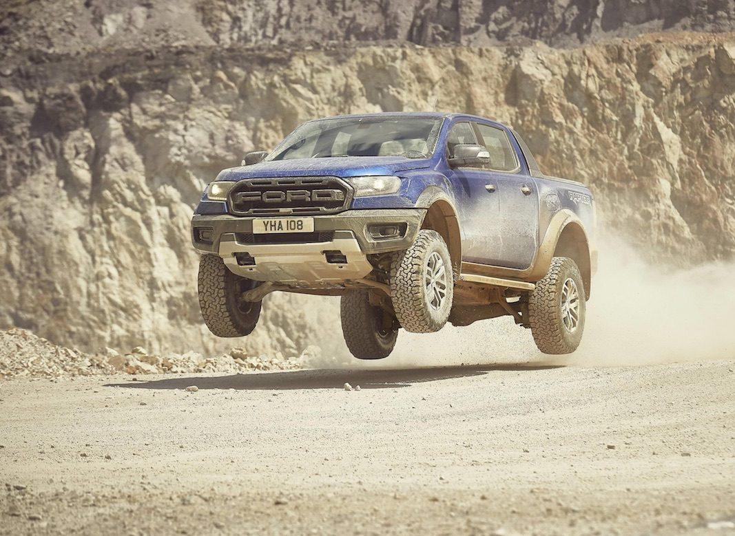 El nuevo Ford Ranger Raptor, la versión más dura y de mayor rendimiento del pick-up, llegará a Europa en 2019