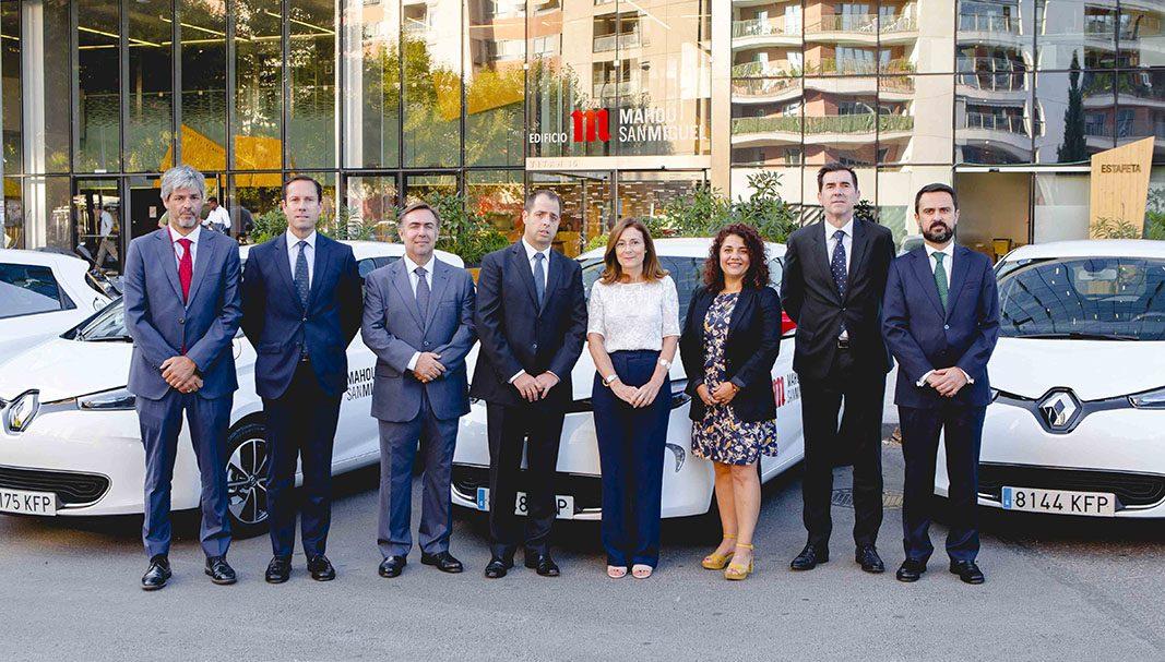 Mahou San Miguel incorpora 18 de Renault ZOE a su flota