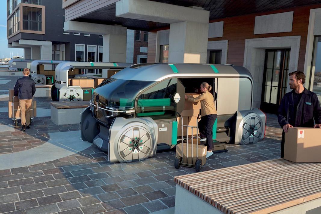 EZ-PRO, el concepto robotizado de Renault para entregas de último kilómetro