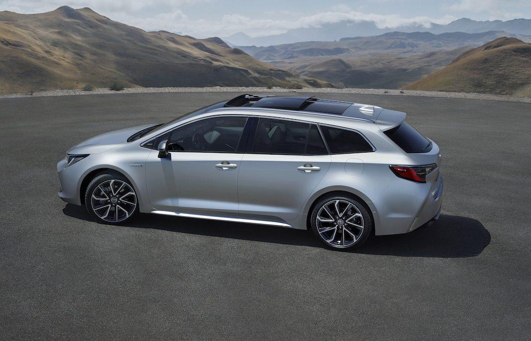 Corolla hybrid Touring Sports, el nuevo familiar compacto de Toyota