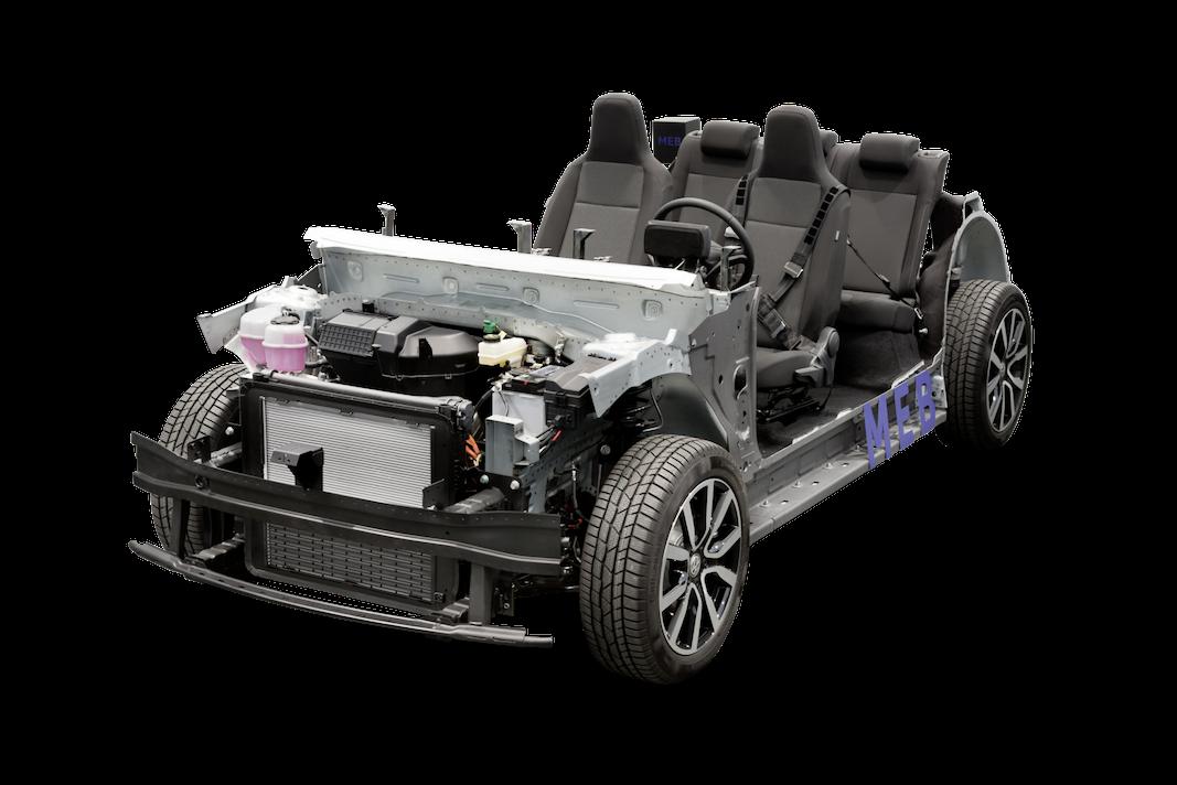 VW muestra la plataforma modular de propulsión eléctrica (MEB)
