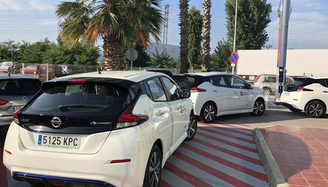 Movelco entrega siete coches eléctricos al Ayuntamiento de Barcelona
