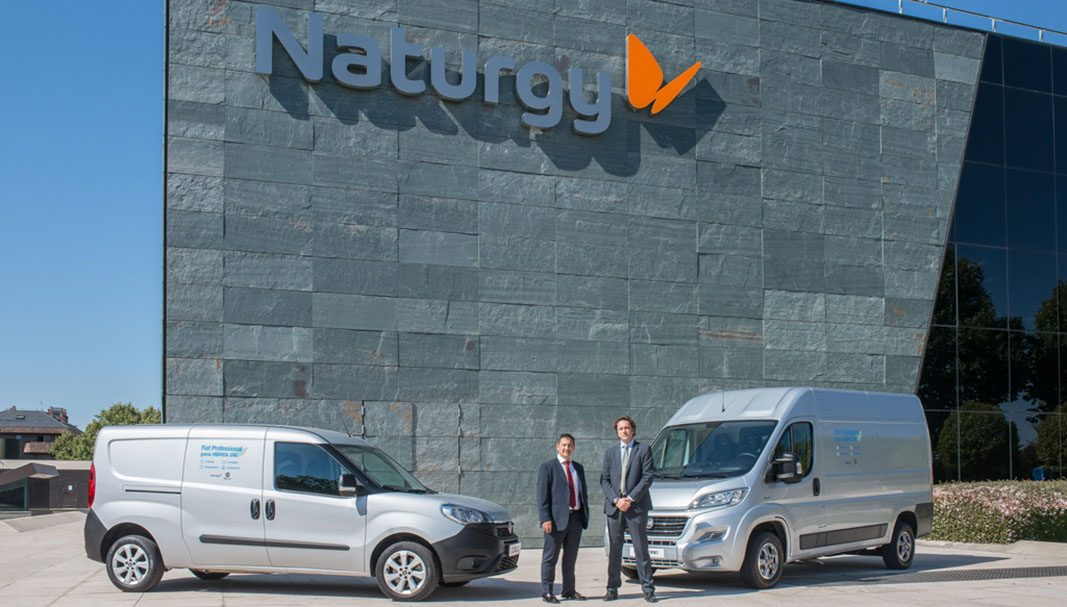 Fiat Professional y Naturgy impulsan juntos la movilidad sostenible