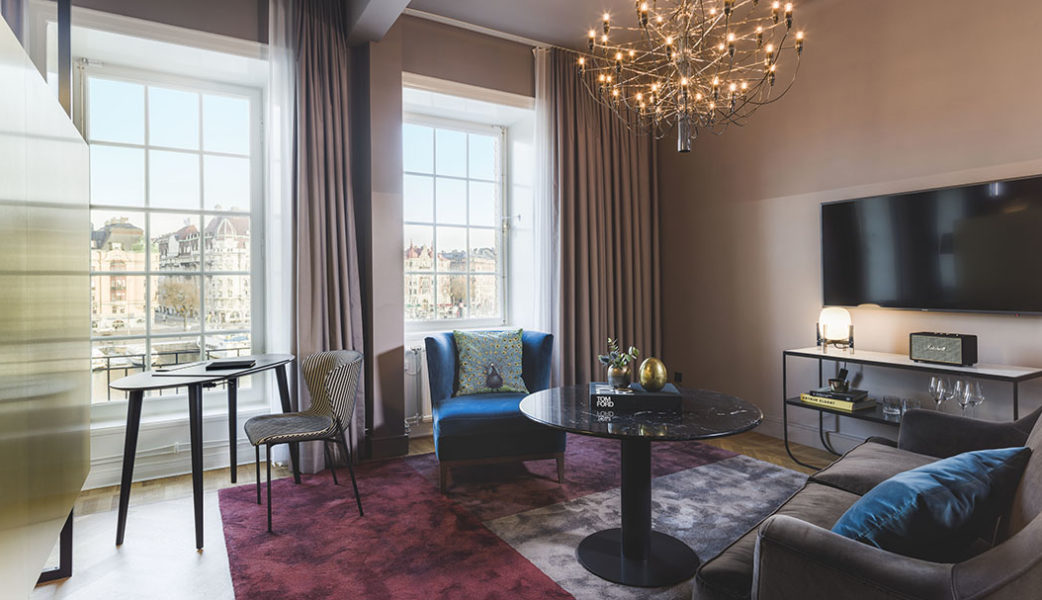 Newly renovated suite at Radisson Collection Hotel, Strand Stockholm. Photo – Rickard L. Eriksson.