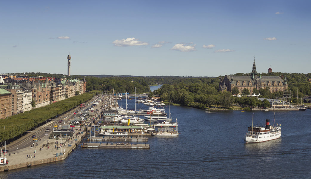 The view from Radisson Collection Hotel, Strand Stockholm. Photo – Rickard L. Eriksson
