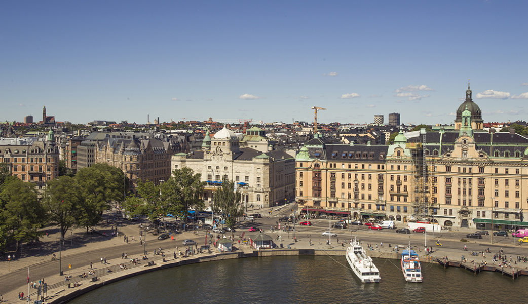 The view from Radisson Collection Hotel, Strand Stockholm. Photo – Rickard L. Eriksson.