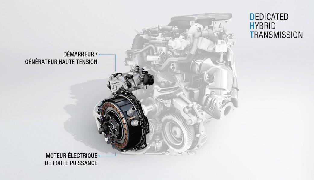2018 – Moteur hybride DHT E-TECH