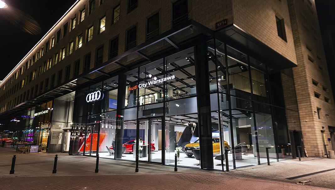 Audi inaugura un nuevo Audi City en Varsovia