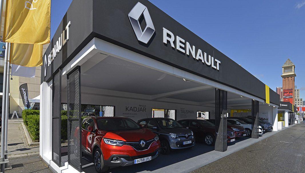 Las ventas del Grupo Renault crecen un 2,9% en el tercer trimestre