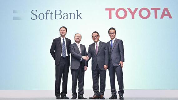 Toyota y SoftBank constituyen una empresa de servicios de movilidad