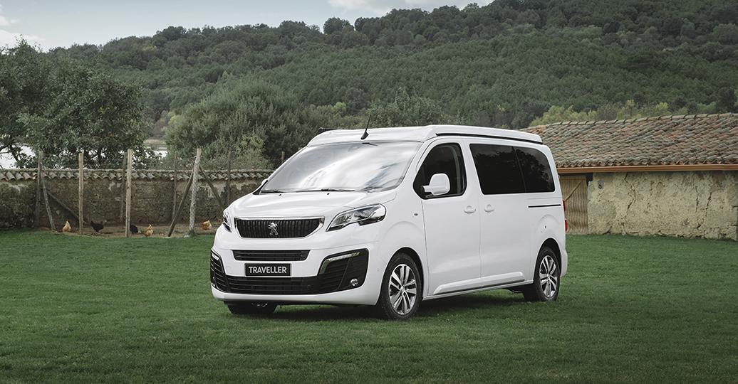 Peugeot carga de razones a los profesionales más atrevidos con el Traveller Tinkervan