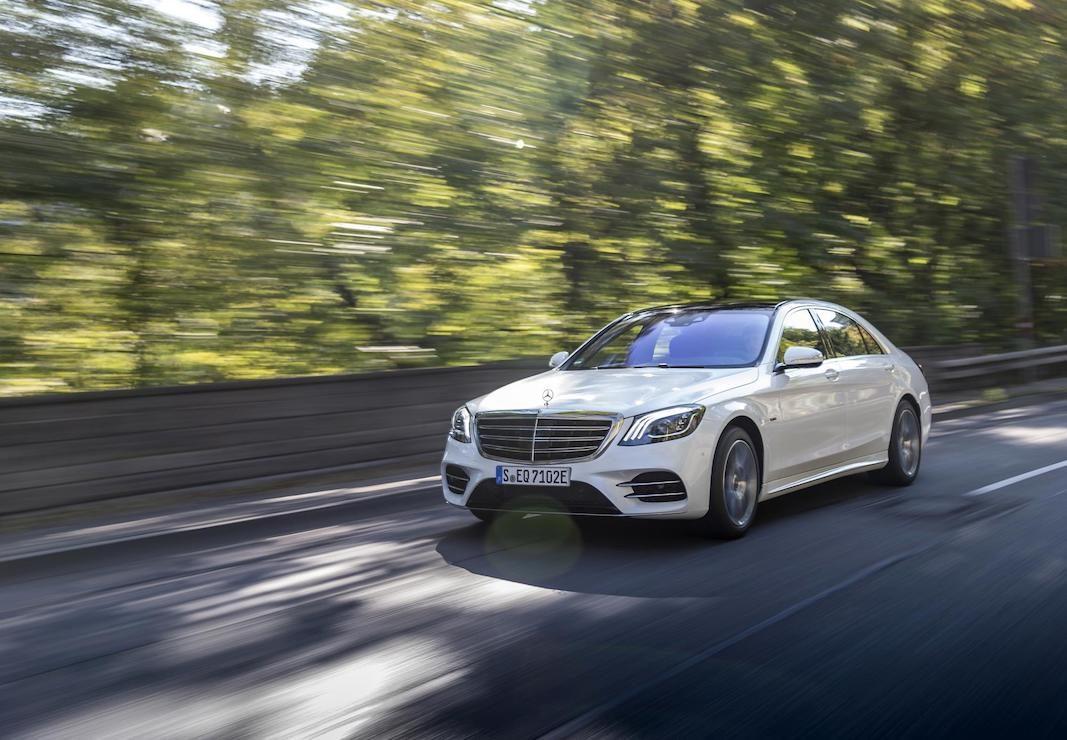 Mercedes-Benz abre pedidos para el híbrido enchufable, el S 560 e