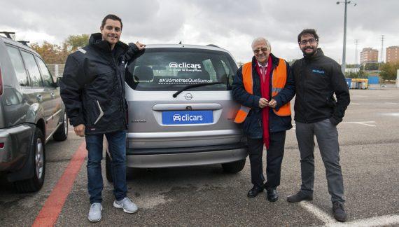 Clicars colaborara con Mensajeros de la Paz con cinco vehículos