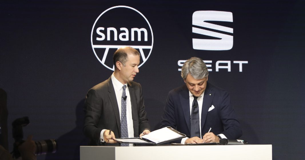 Seat y Snam se unen para impulsar el gas natural y el biogás en Europa