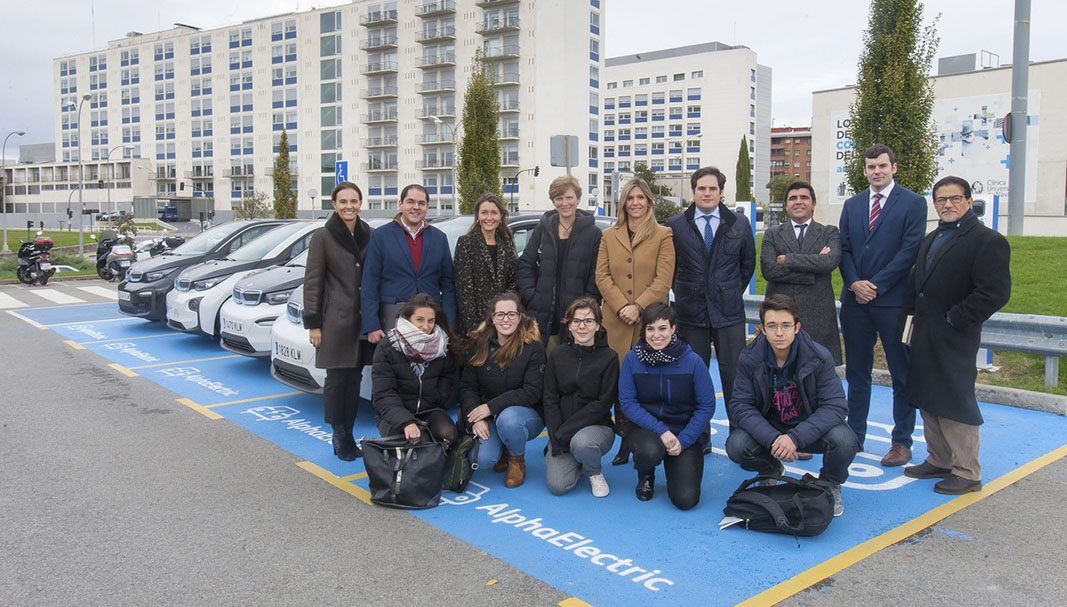 Alphabet y la Universidad de Navarra investigan la movilidad eléctrica