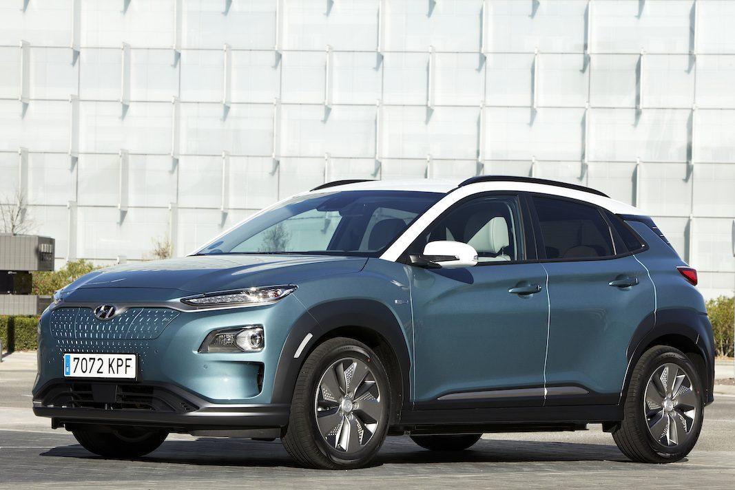 Hyundai eleva la autonomía del Kona: 484 kilómetros
