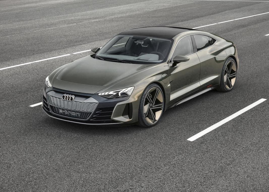 e-tron GT concept, tercer modelo eléctrico de Audi
