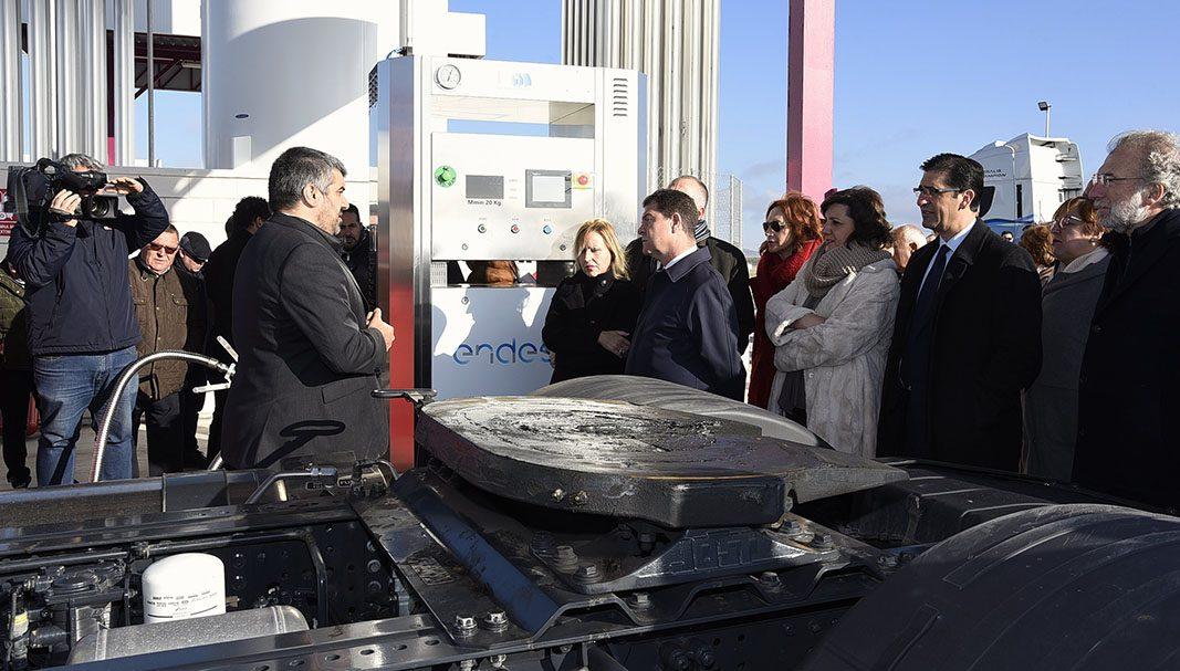 Inauguran la primera gasinera en Ciudad Real