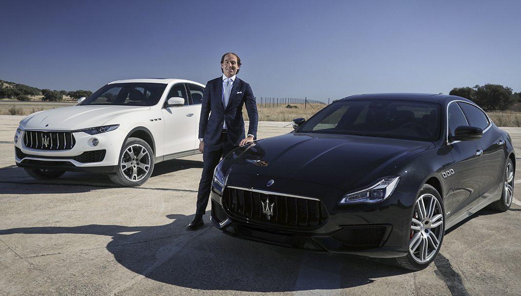 Marco Daine, el responsable de Flotas Maserati West Europe, habla sobre el lujo de decidir