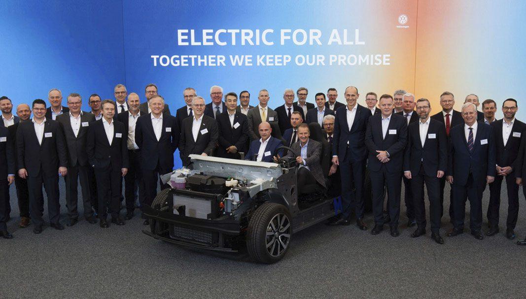 Volkswagen iniciará la producción de ID. en un año