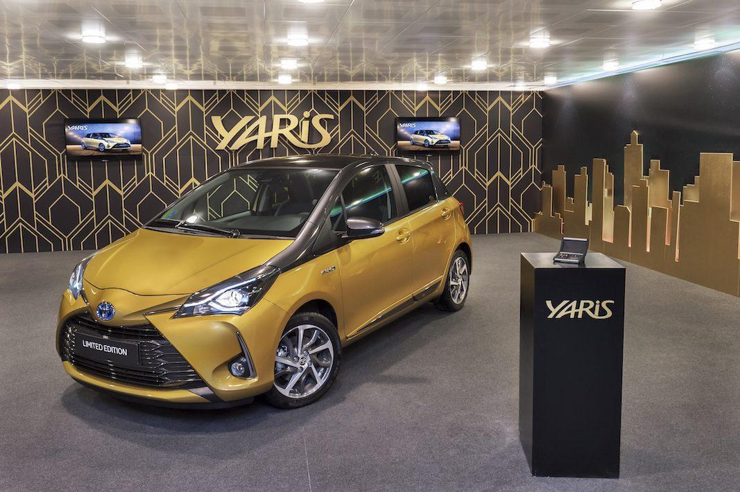 Toyota Yaris Y20, una edición especial para celebrar su veinte aniversario