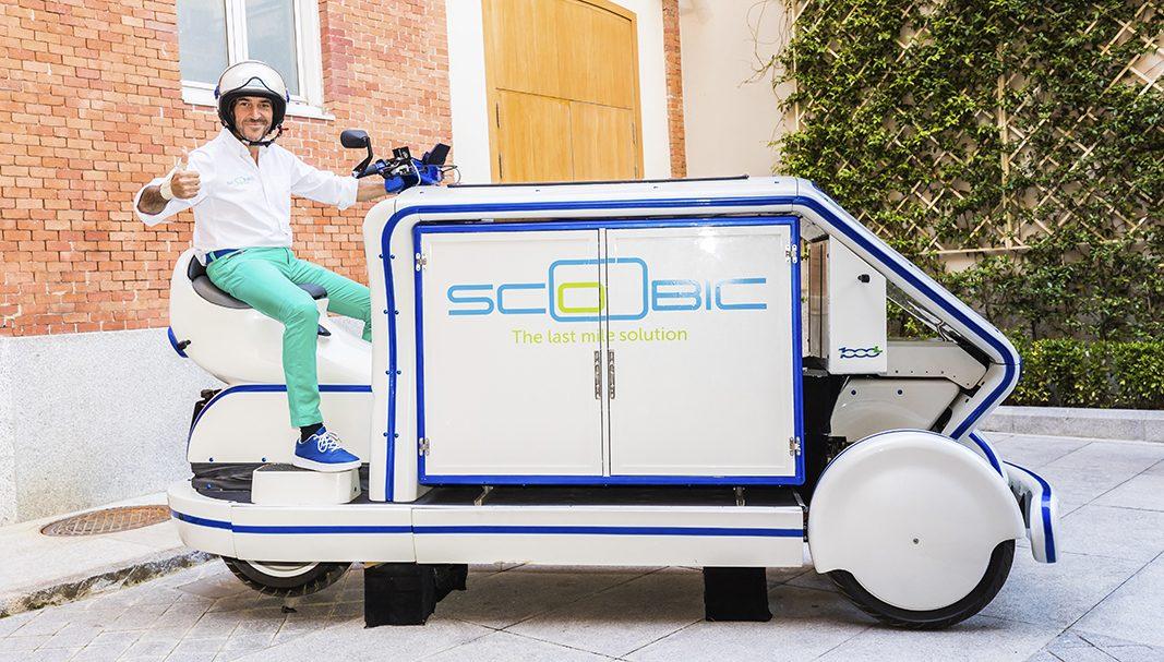 Scoobic, la nueva opción que entra en el mercado de reparto de última milla