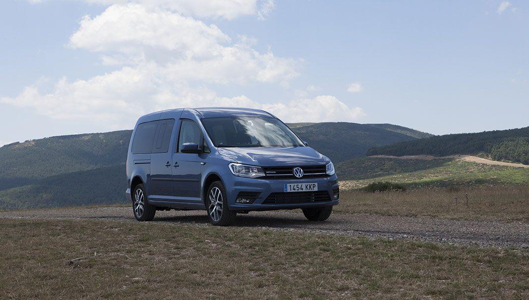 Prueba: VW caddy TGI, argumentos empresariales por todas partes