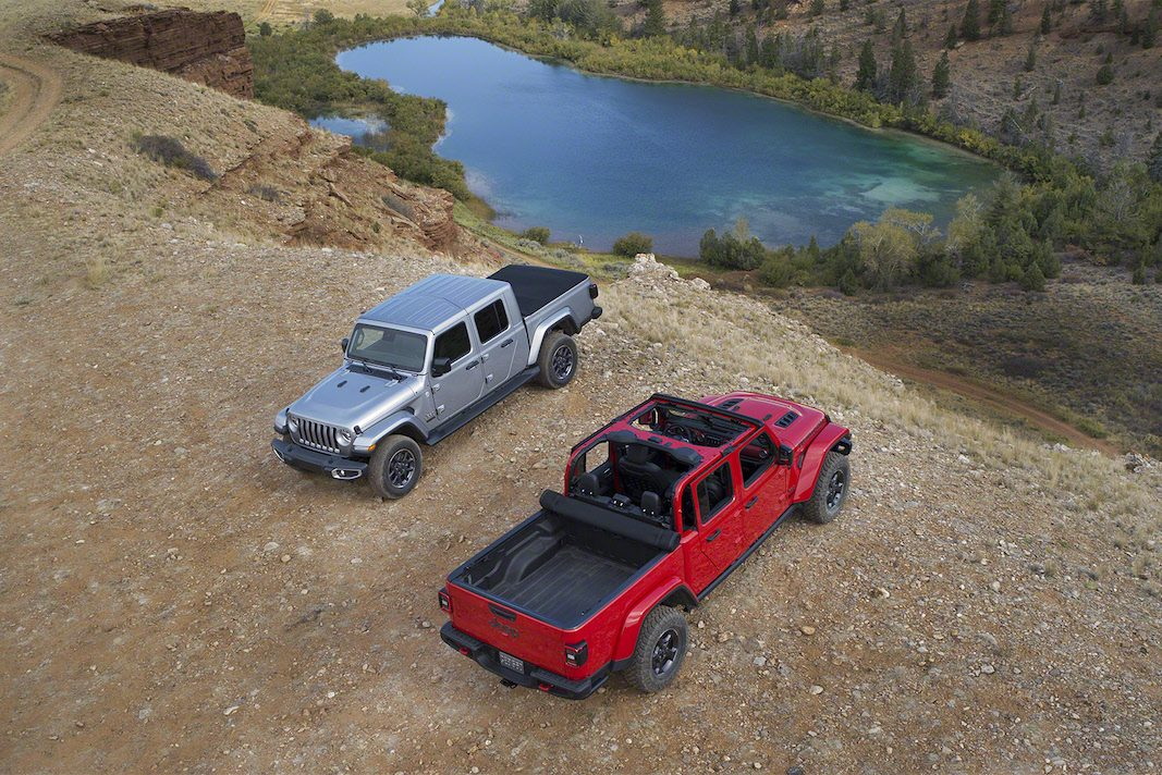Jeep Gladiator, un pick-up que llegará al mercado europeo en 2020