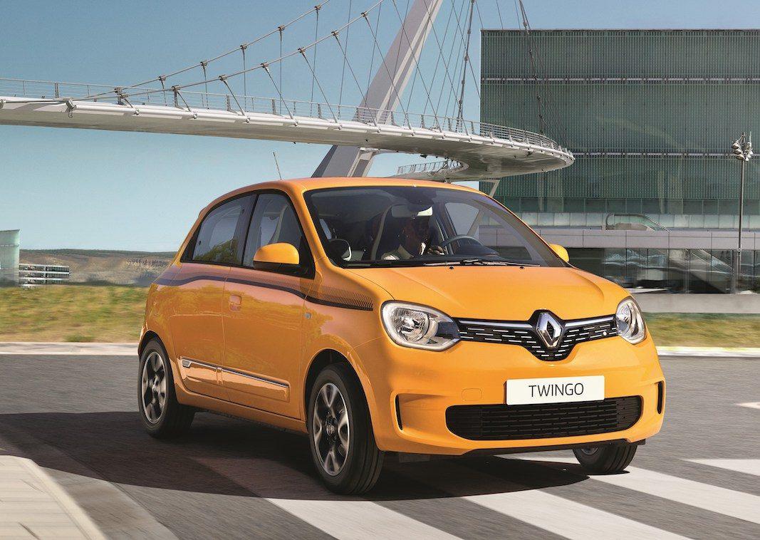 Renault actualiza ligeramente el Twingo de 2014