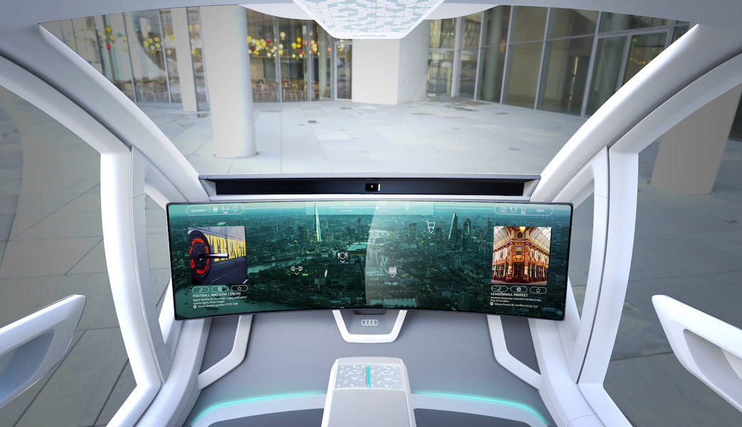 Audi, Italdesign and Airbus combine self-driving car and passeng