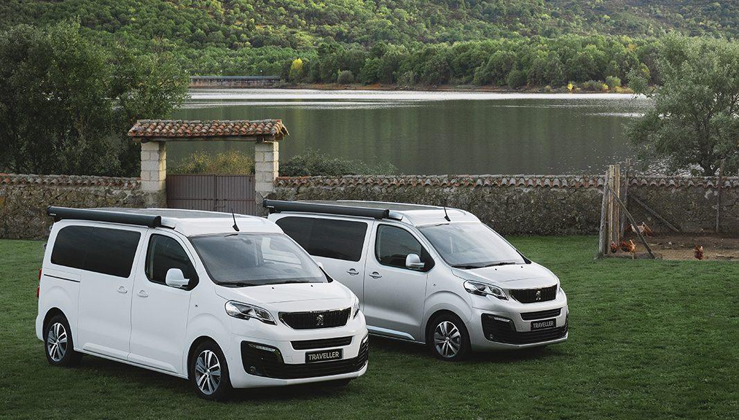 Peugeot exprime el concepto de practicidad con el Traveller Tinkervan