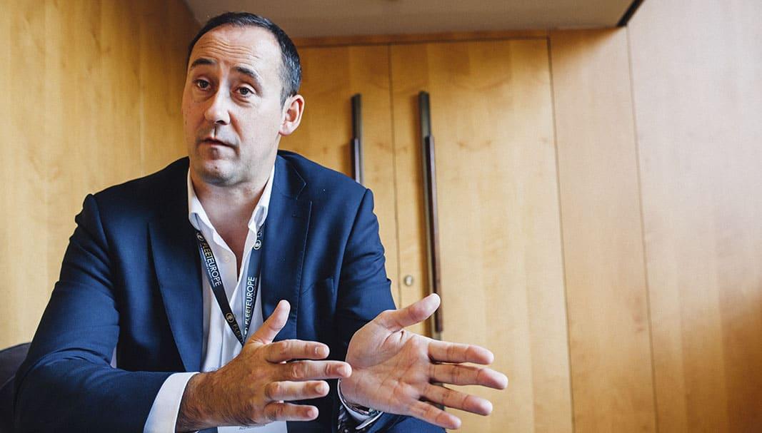 John Saffrett, Deputy CEO de ALD Automotive. FOTOGRAFÍA: YAYO PINO
