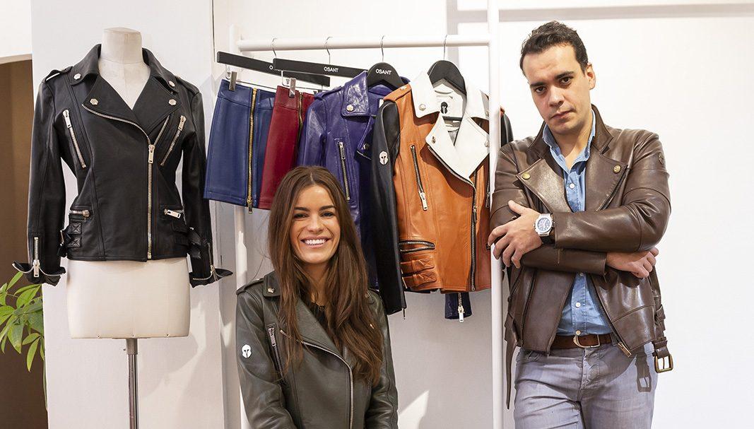 Almudena y Carlos Rico lideran la ecléctica firma de chaquetas de cuero Osant