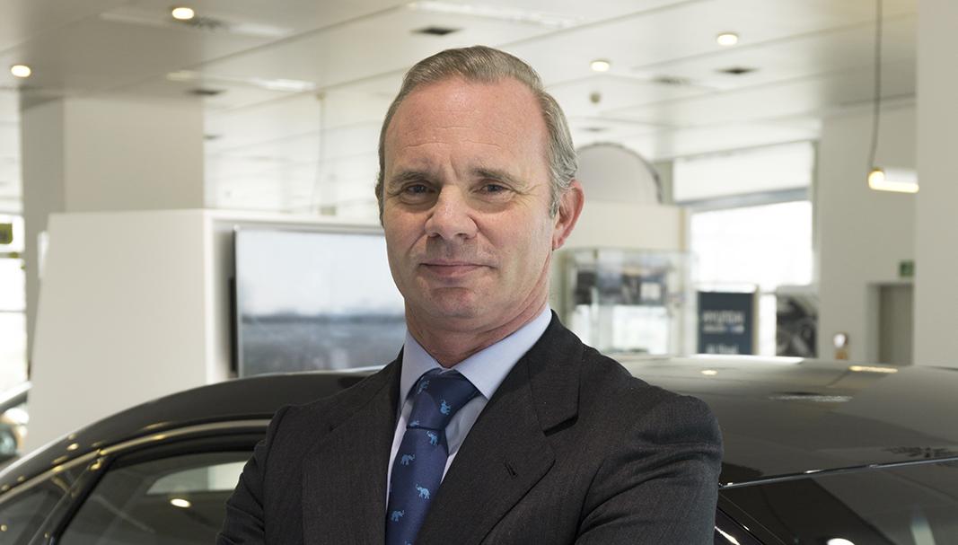 Leopoldo 'Polo' Satrústegui es el primer ejecutivo de Hyundai en España. / FOTOGRAFÍA: DANIEL SANTAMARÍA ©FLEET PEOPLE