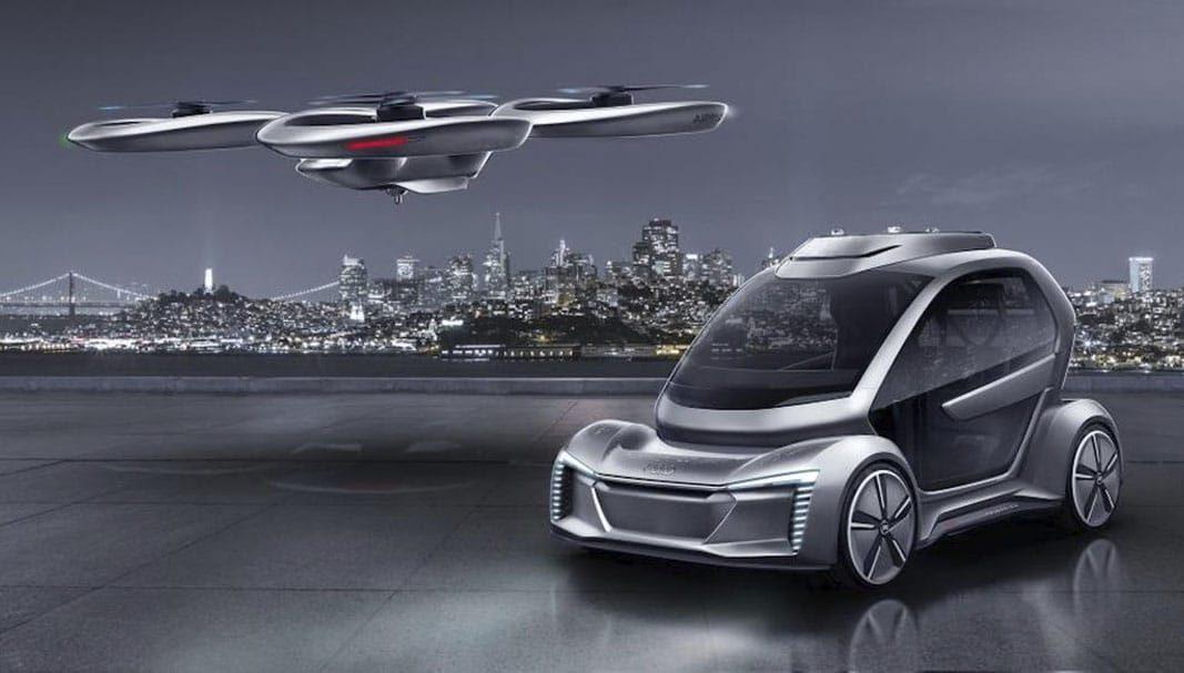 Audi, Airbus e Italdesign desarrollan un prototipo funcional de taxi aéreo