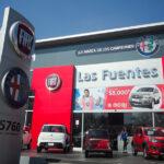 Aprovechar el 'momentum'. Los concesionarios multimarca del grupo automovilístico italiano Fiat Chrysler Automobiles (FCA) en Zapopan, Jalisco (México). // FOTOGRAFÍA: TODD A. MERPORT