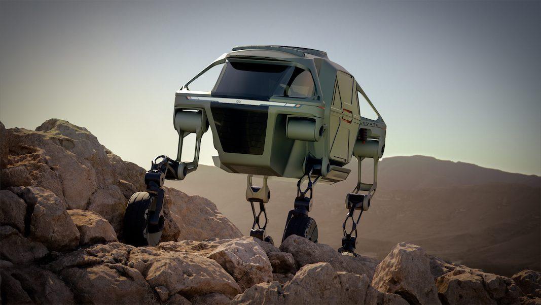 Hyundai Elevate Concept, un vehículo para rodar, caminar o escalar