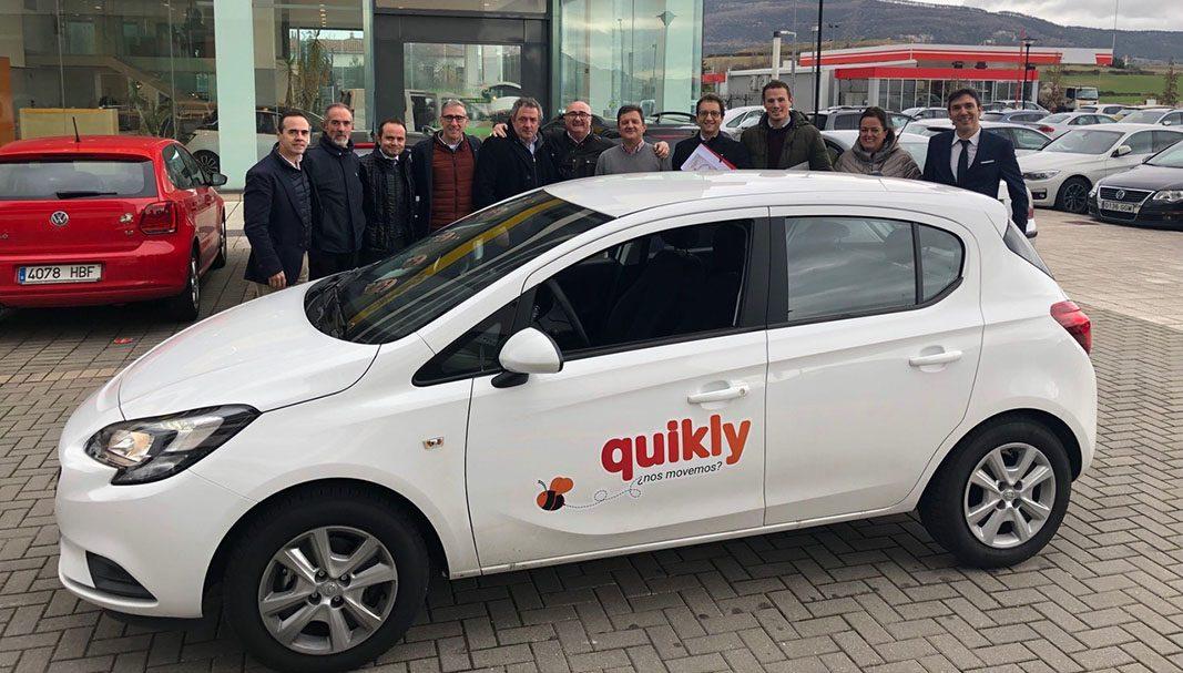 Llega Quikly, el primer carsharing para concesionarios