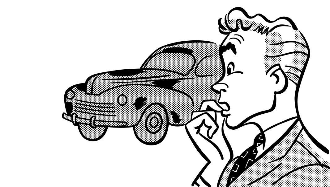 Paisajes de la batalla del automóvil