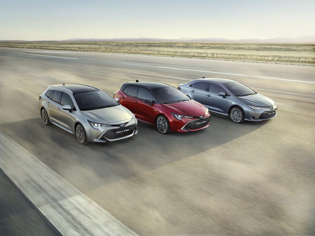 Toyota inicia la comercialización en España de la nueva familia Corolla