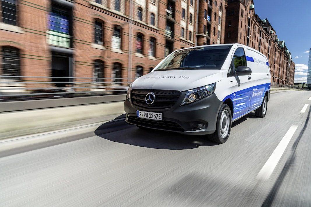 La eléctrica eVito, de Mercedes-Benz, preparada para su comercialización en verano