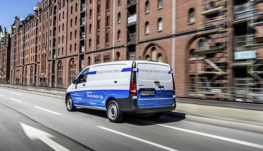 eDrive@VANs next level: Lokal emissionsfreie Mobilität im Praxischeck: eVito und eSprinter fit für den urbanen EinsatzeDrive@VANs next level: Local zero-emissions mobility in practice: eVito and eSprinter fit for urban life
